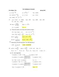 Beginning - Microelectronic Devices and Circuits - Solved Exam