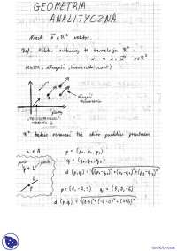 Twierdzenia - Notatki - Algebra - Część 2
