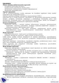 Podstawy ergonomii - Notatki - Ergonomia - Część 1