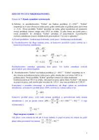 Zadania z mikroekonomii, rozwiązania - Notatki - Mikroekonomia - Część 2