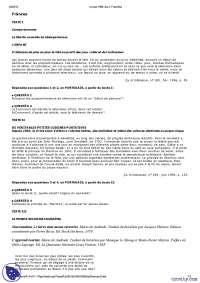 Vestibular de Francês 2 - 1998 - UFRJ