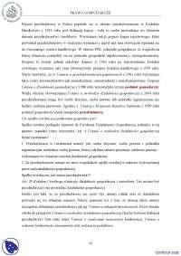 Prawo gospodarcze - Notatki - Prawo gospodarcze - Część 2
