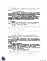 Reações de Identificação dos Cátions do Grupo III - Apostilas - Química Analítica Qualitativa