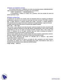 Reações dos íons amônio - Apostilas - Química Analítica Qualitativa