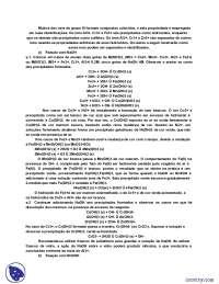 Reações de Separação - Apostilas - Química Analítica Qualitativa