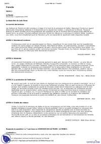 Vestibular de Francês - 1998 - UFRJ