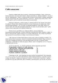 Całki oznaczone - Notatki - Analiza matematyczna - Część 1