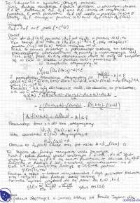 Twierdzenie Schwarza o symetrii drugiej różniczki - Notatki - Analiza matematyczna 3