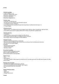 Kości - Notatki - Biologia