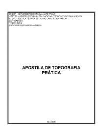 Topografia Prática - Apostilas - Design Gráfico