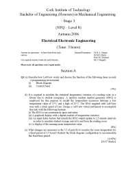 Block Diagram - Electrical - Electronic Engineering - Exam