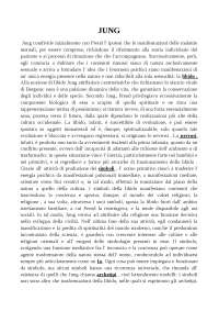 Jung - Appunti - Psicologia Dinamica