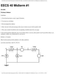 Formulas - Electrical Engineering - Exam