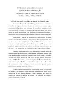 Resenha - A miséria do jornalismo brasileiro - Apostilas - Jornalismo