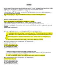 Lista de Exercícios farmacognosia - Apostilas - Bio Química