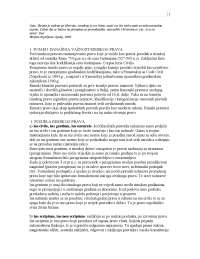 Institucije rimskog prava - pitanja i odgovori po horvatu autor dea-Skripta-Pravni - Univerzitet u Tuzli