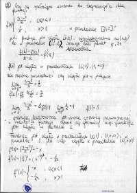 Warunki tw Legrange'a dla funkcji - Ćwiczenia - Analiza matematyczna 2