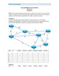 Broadcast - Computer Networks and Internet - Past Exam Paper