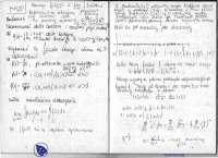 Zbieżność szeregów - Ćwiczenia - Analiza matematyczna 2