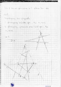 Płaszczyzna spełnia DES - Notatki - Geometria elementarna