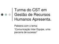 Comunicação Inter Equipe - Apostilas - Politica_Parte1