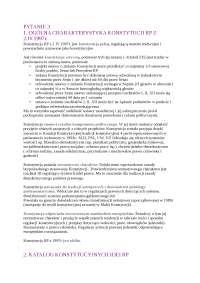 Ogólna charakterystyka konstytucji RP  - Notatki - Administracja
