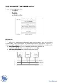 Asembler-Skripta-Arhitektura racunara 1-Informatika