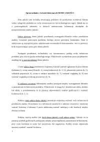 Sprawozdanie z ćwiczeń dom jakości - Notatki - Zarządzanie produkcją