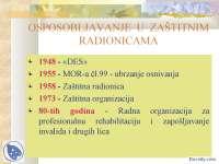 OSPOSOBLJAVANJE  U  ZASTITNIM RADIONICAMA- Slajdovi- Profesionalno i radno osposobljavanje- FASPER