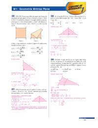 Exercícios Resolvidos Geometria Métrica Plana 2 - Apostilas - Matematica