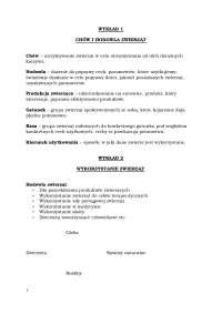 Chów i hodowla zwierząt - Notatki - Zarządzanie produkcją