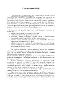 Charakterystyka i sposoby zgrzewania - Notatki - Materiałoznawstwo