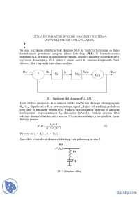 POVRATNA SPREGA-Vezbe-Automatsko uptavljanje 1-Elektrotehnika i racunarstvo
