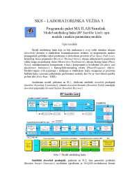 Programski paket MATLAB-Simulink-Vezbe-Satelitski komunikacioni sistemi-Elektrotehnika i racunarstvo (1)