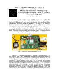 Određivanje parametara trenutne pozicije-Vezbe-Satelitski komunikacioni sistemi-Elektrotehnika i racunarstvo