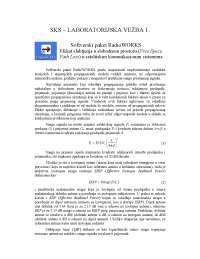 Softverski paket RadioWORKS-Vezbe-Satelitski komunikacioni sistemi-Elektrotehnika i racunarstvo (1)