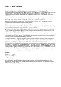 Banco de Dados e SQL - Parte2