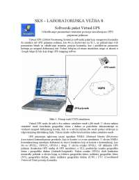 Softverski paket Virtual GPS-Vezbe-Satelitski komunikacioni sistemi-Elektrotehnika i racunarstvo