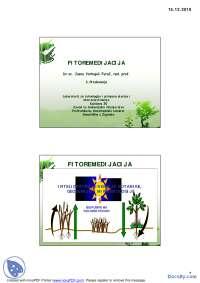 FITOREMEDIJACIJA2-Slajdovi-Fakultet za primenjenu ekologiju