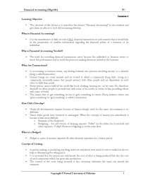 MGT101 Financial Accounting - I