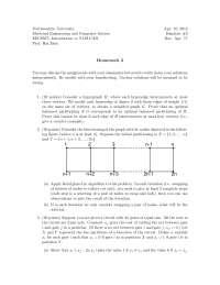 Hypergraph - Introduction to VLSI CAD - Homework