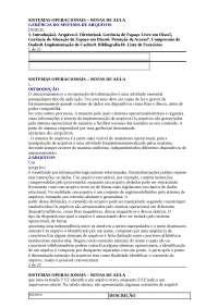 Sistemas Operacionais - Apostilas - Informática Biomédica