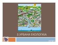 Urbana ekologija grada-Slajdovi-Fakultet za primenjenu ekologiju