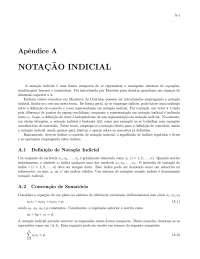 Notação indicial - Apostilas - Geofísica