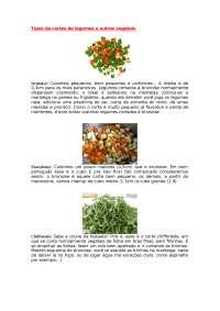 Tipos de cortes - Apostilas - Gastronomia