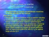 8 - uticajne linije za stat neodr nosace- Skripta-Mehanika tla-Građevinski