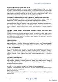 OGIS - skripta - II parcijalni-Skripta-osnovi geoinformacija- Građevinski