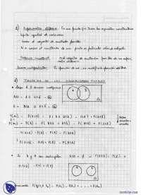Resumen de la materia - Apuntes - Probabilidad y estadística - Parte 1