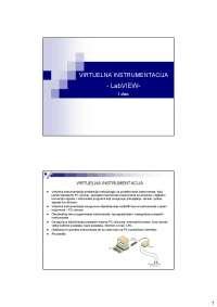 Virtuelna instrumentacija LabVIEW-Slajdovi-Merni informacioni sistemi-Elektrotehnika i racunarstvo (1)