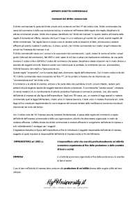 Contenuti del diritto commerciale - Appunti - Diritto commerciale B